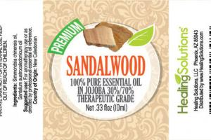 100% PURE ESSENTIAL OIL SANDALWOOD