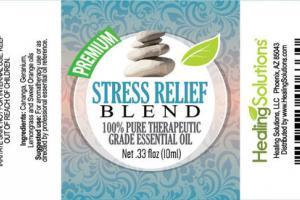 PREIMUM STRESS RELIEF BLEND 100% PURE THERAPEUTIC