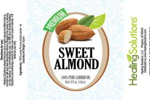 PREMIUM 100% PURE CARRIER OIL SWEET ALMOND