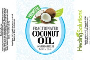 PREMIUM 100% PURE CARRIER FRACTIONATED COCONUT OIL