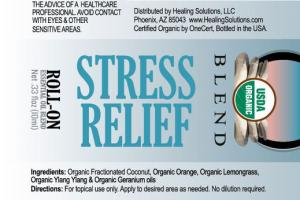 ESSENTIAL OIL BLEND STRESS RELIEF ROLL-ON