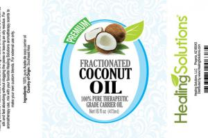 100% PURE THERAPEUTIC GRADE CARRIER FRACTIONATED COCONUT OIL
