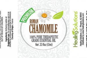 PREMIUM 100% PURE THERAPEUTIC GRADE ESSENTIAL OIL ROMAN CHAMOMILE