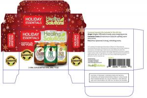 HOLIDAY 100% PURE ESSENTIAL OIL CASSIA CINNAMON PINE GINGER