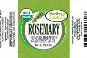 ROSEMARY 100% PURE THERAPEUTIC