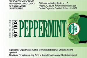 PEPPERMINT ROLL-ON ESSENTIAL OIL BLEND