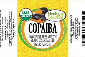 COPAIBA 100% PURE THERAPEUTIC GRADE ESSENTIAL OIL