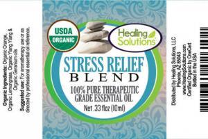 STRESS RELIEF BLEND 100% PURE THERAPEUTIC GRADE ESSENTIAL OIL