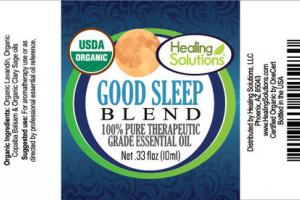 GOOD SLEEP BLEND 100% PURE THERAPEUTIC GRADE ESSENTIAL OIL
