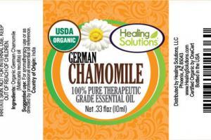 GERMAN CHAMOMILE 100% PURE THERAPEUTIC GRADE ESSENTIAL OIL