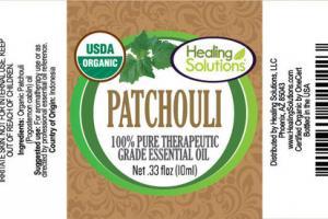 PATCHOULI 100% PURE THERAPEUTIC GRADE ESSENTIAL OIL