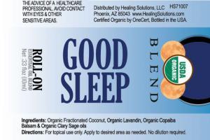 GOOD SLEEP ROLL-ON ESSENTIAL OIL BLEND