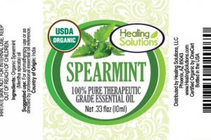 SPEARMINT 100% PURE THERAPEUTIC GRADE ESSENTIAL OIL