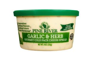 GARLIC & HERB GOURMET COLD PACK CHEESE SPREAD