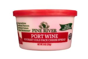 PORT WINE GOURMET COLD PACK CHEESE SPREAD