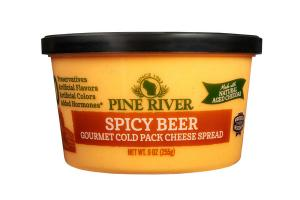 SPICY BEER GOURMET COLD PACK CHEESE SPREAD