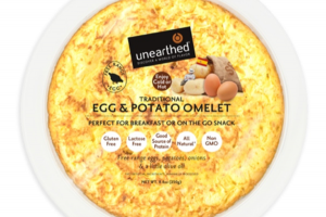 TRADITIONAL EGG & POTATO OMELET