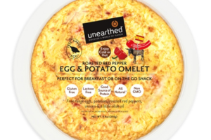 ROASTED RED PEPPER EGG & POTATO OMELET