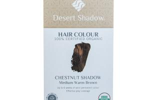 CHESTNUT SHADOW MEDIUM WARM BROWN HAIR COLOUR