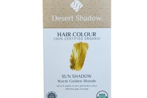 SEMI-PERMANENT HAIR COLOR EFFECTIVE GREY COVERAGE WARM GOLDEN BLONDE SUN SHADOW