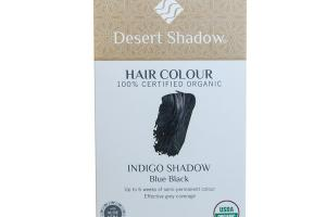 INDIGO SHADOW HAIR COLOUR BLUE BLACK
