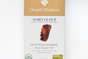 DEEP SHADOW DEEP COPPER RED HAIR COLOUR