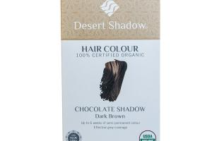 CHOCOLATE SHADOW DARK BROWN 100% CERTIFIED ORGANIC HAIR COLOUR