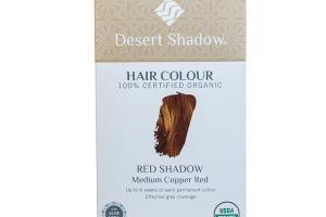 RED SHADOW MEDIUM COPPER RED HAIR COLOUR