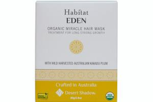 HABITAT EDEN ORGANIC MIRACLE HAIR MASK.
