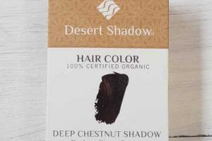 DEEP CHESTNUT SHADOW HAIR COLOUR 100% CERTIFIED ORGANIC DARKEST WARM BROWN
