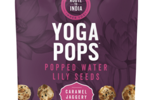 CARAMEL JAGGERY POPPED WATER LILY SEEDS YOGA POPS