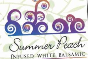 SUMMER PEACH INFUSED WHITE BALSAMIC