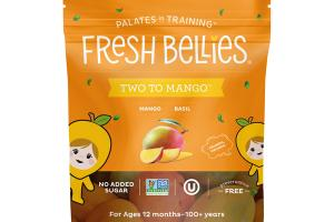 TWO TO MANGO BASIL FREEZE DRIED BABY FOOD