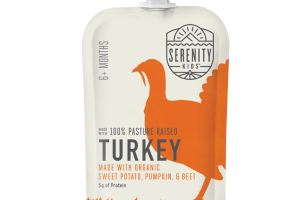 TURKEY 100% PASTURE RAISED BABY FOOD