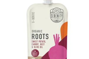 SWEET POTATO, CARROT, BEET & OLIVE OIL ORGANIC ROOTS BABY FOOD