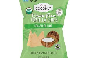 SPLASH OF LIME GRAIN FREE TORTILLA CHIPS