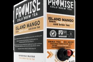 ISLAND MANGO BLACK SLIGHTLY SWEET COLD BREW TEA