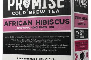 AFRICAN HIBISCUS UNSWEET COLD BREW TEA