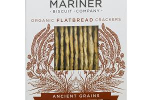 ANCIENT GRAINS ORGANIC FLATBREAD CRACKERS
