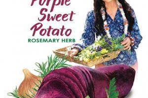 ROSEMARY HERB PURPLE SWEET POTATO CHIPS