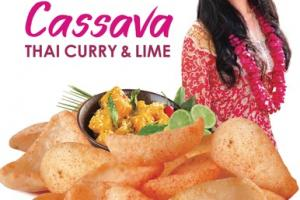 THIA CURRY & LIME CASSAVA CHIPS