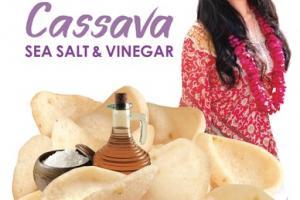 SEA SALT & VINEGAR CASSAVA CHIPS