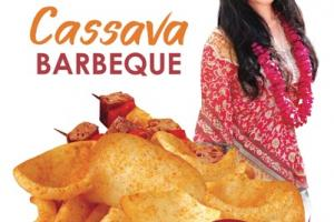 BARBEQUE CASSAVA CHIPS