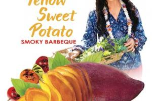 SMOKY BARBEQUE YELLOW SWEET POTATO CHIPS