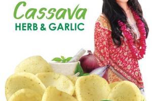HERB & GARLIC CASSAVA CHIPS