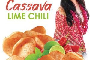 LIME CHILI CASSAVA CHIPS