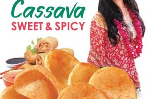 SWEET & SPICY CASSAVA CHIPS