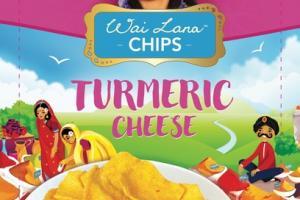 TURMERIC CHEESE CASSAVA CHIPS