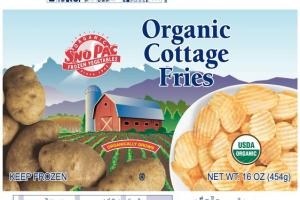 ORGANIC COTTAGE FRIES