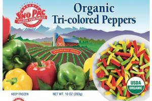 ORGANIC TRI-COLORED PEPPERS